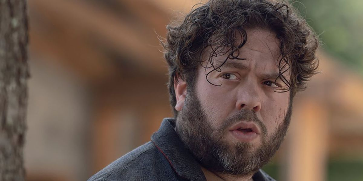 Image result for luke the walking dead dan fogler