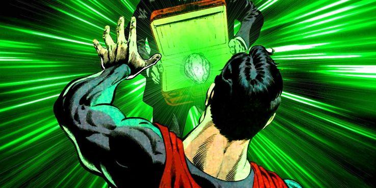 kryptonite display - Veinte armas DC que podrían herir o matar a Superman
