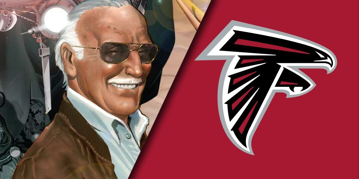 Stan Lee Homaged Before NFL Game by Falcons' Mohamed Sanu