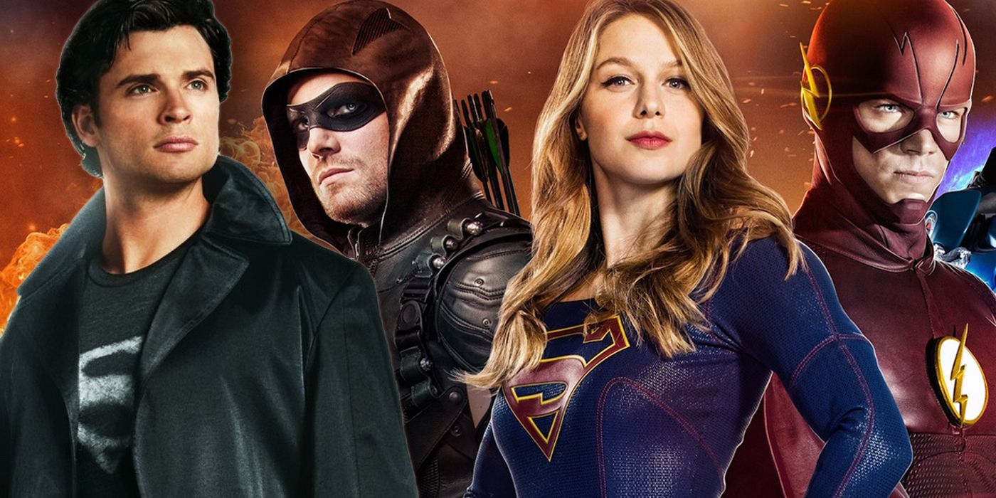 Stephen Amell Reacts to Tom Welling's Arrowverse Arrival | CBR