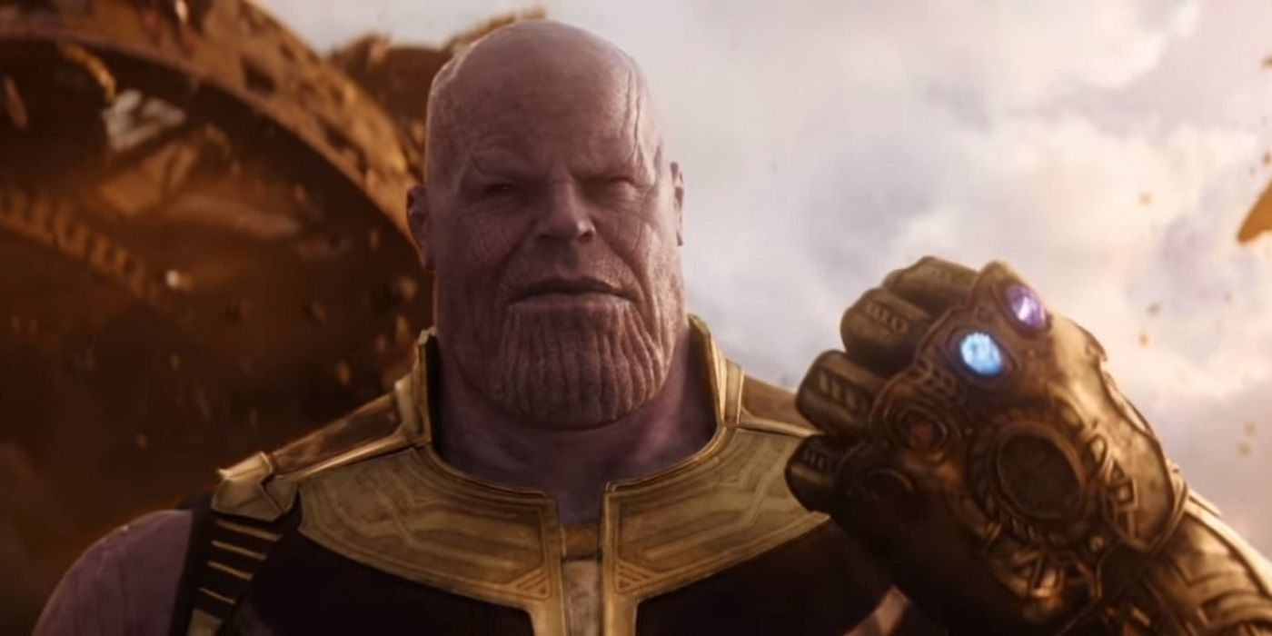 Infinity War Concept Art Gives Young Thanos A Very Different Look