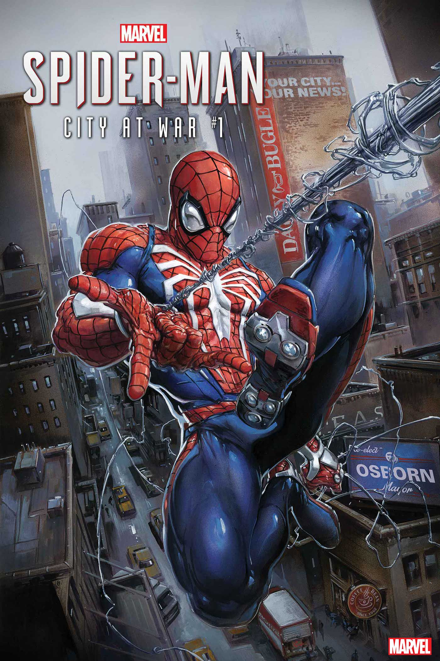 Spider-Man: City at War #1 (Too) Faithfully Adapts Sony's Hit Video Game