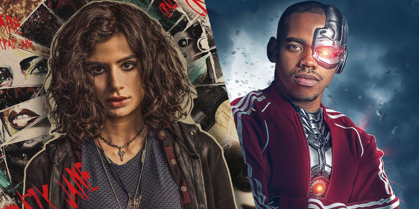 Dc Universe Doom Patrol Character Posters Debut Date Revealed