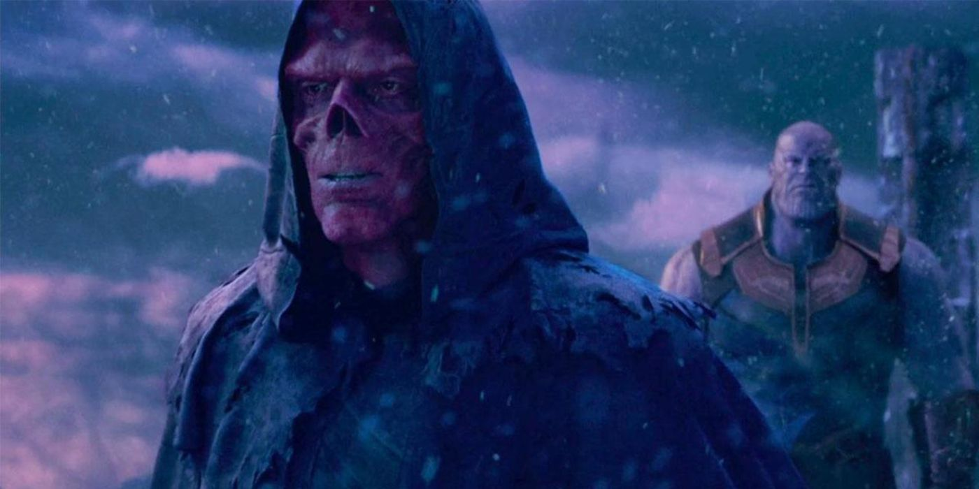 Is Red Skull relieved of his duty?