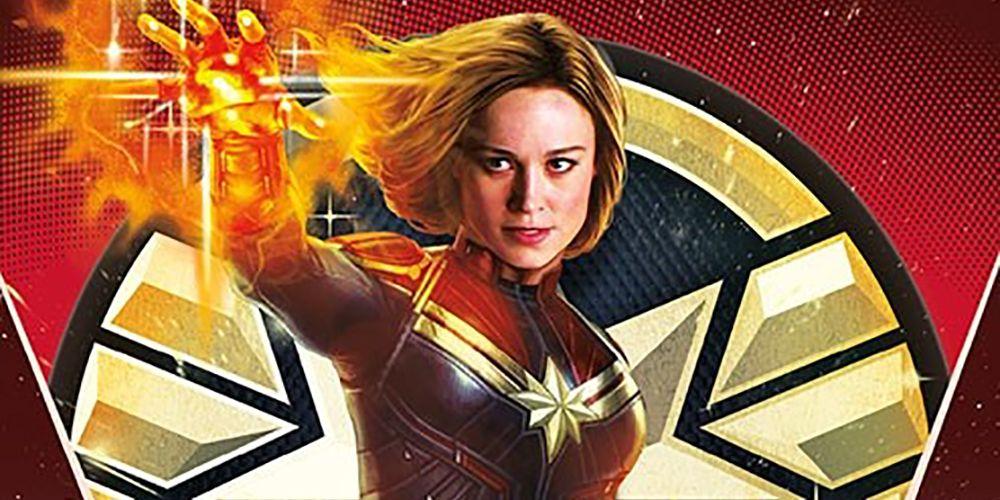 Captain Marvel Fan Creates Stunning Stained Glass Art