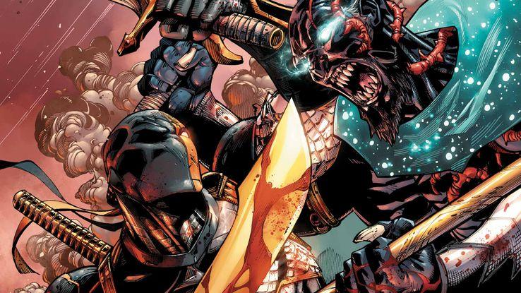 Deathstroke10Cover - Veinte armas DC que podrían herir o matar a Superman