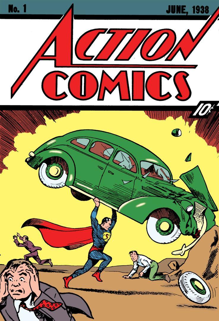 action comics 1 - Shazam! vs Superman: ¿Quién es más poderoso?