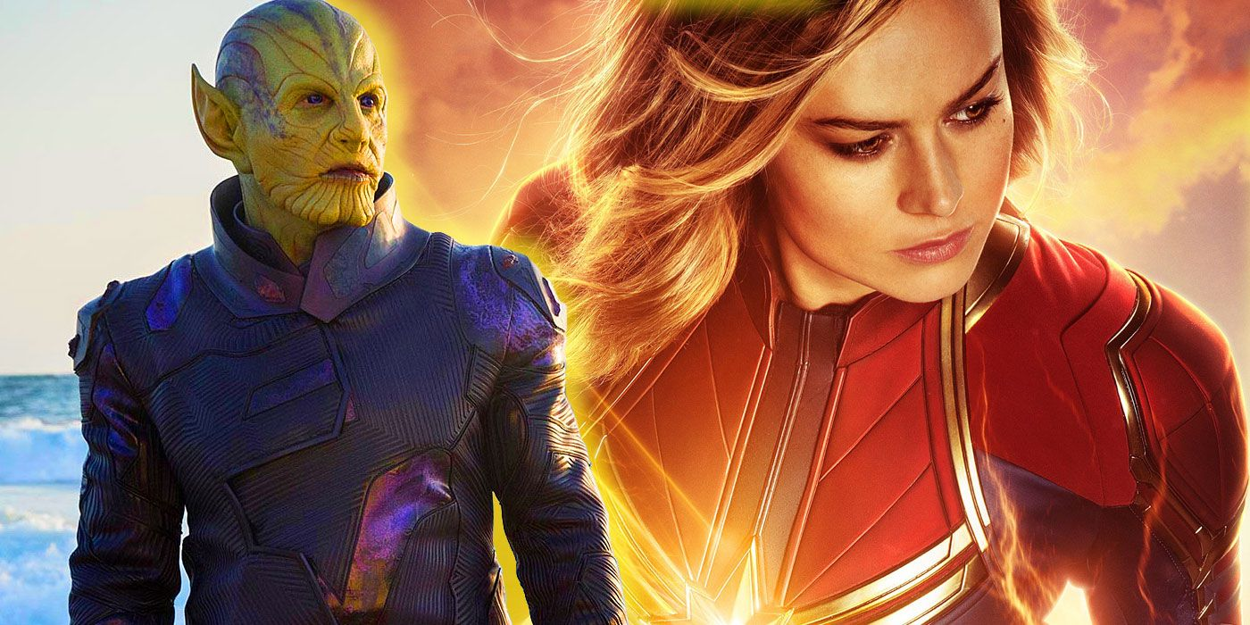 Captain Marvels Brie Larson Has A Dance Off With Skrulls In Bts Video