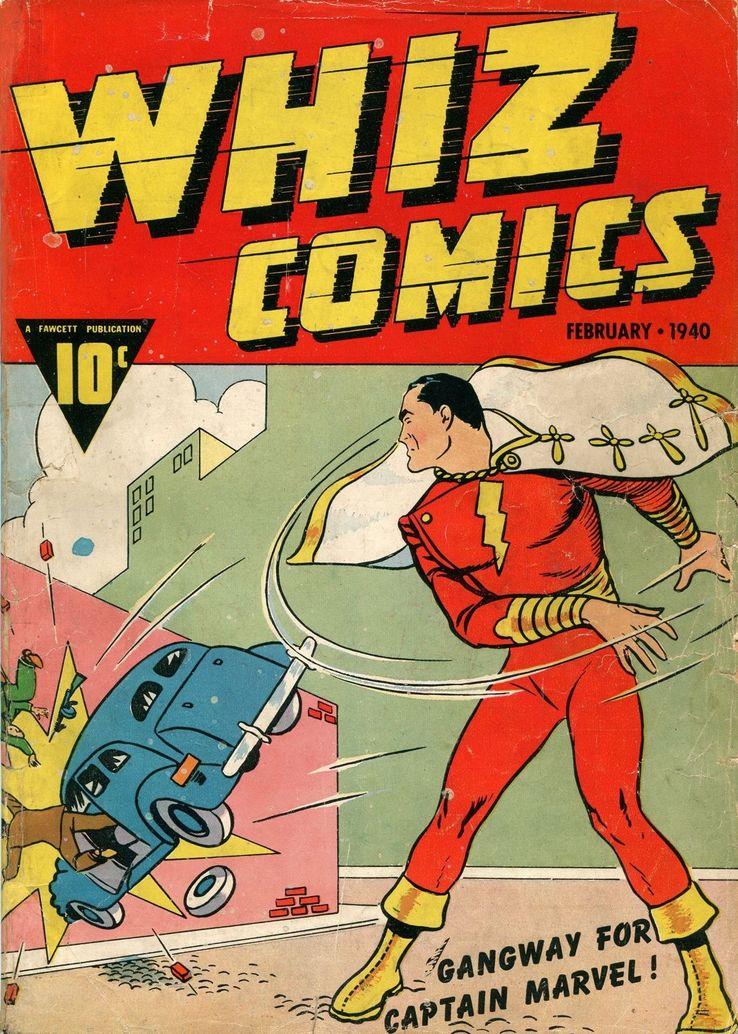 whiz comics 2 - Shazam! vs Superman: ¿Quién es más poderoso?