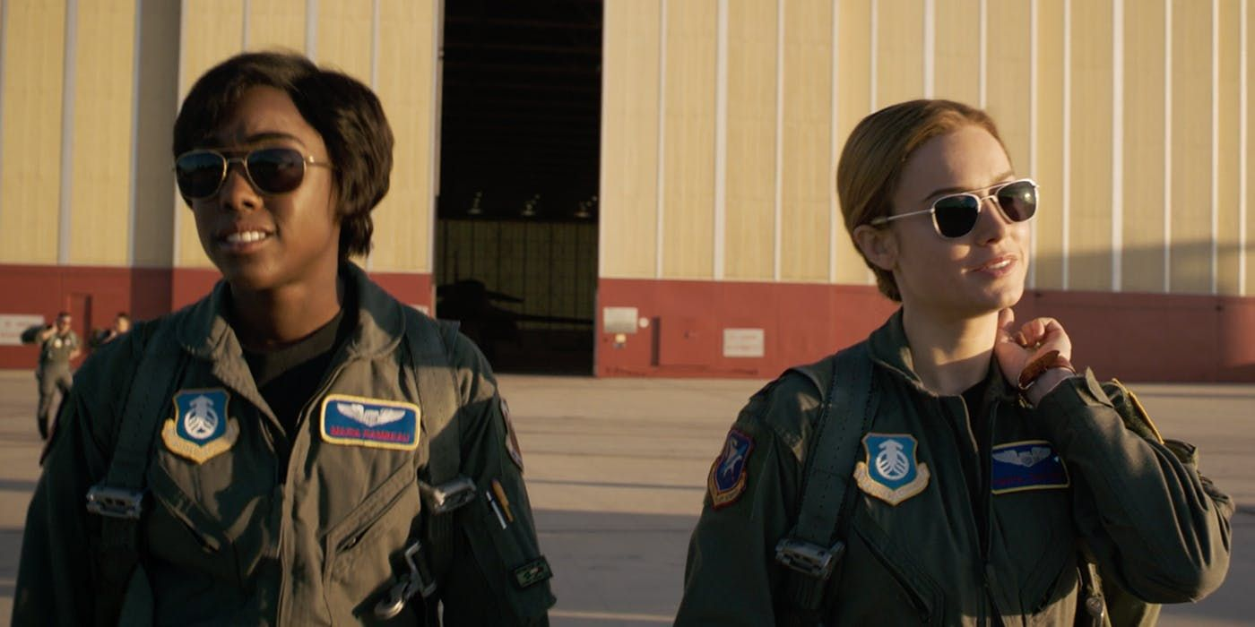 Captain Marvel Featurette Sees Film's Stars Celebrating Armed Forces Day