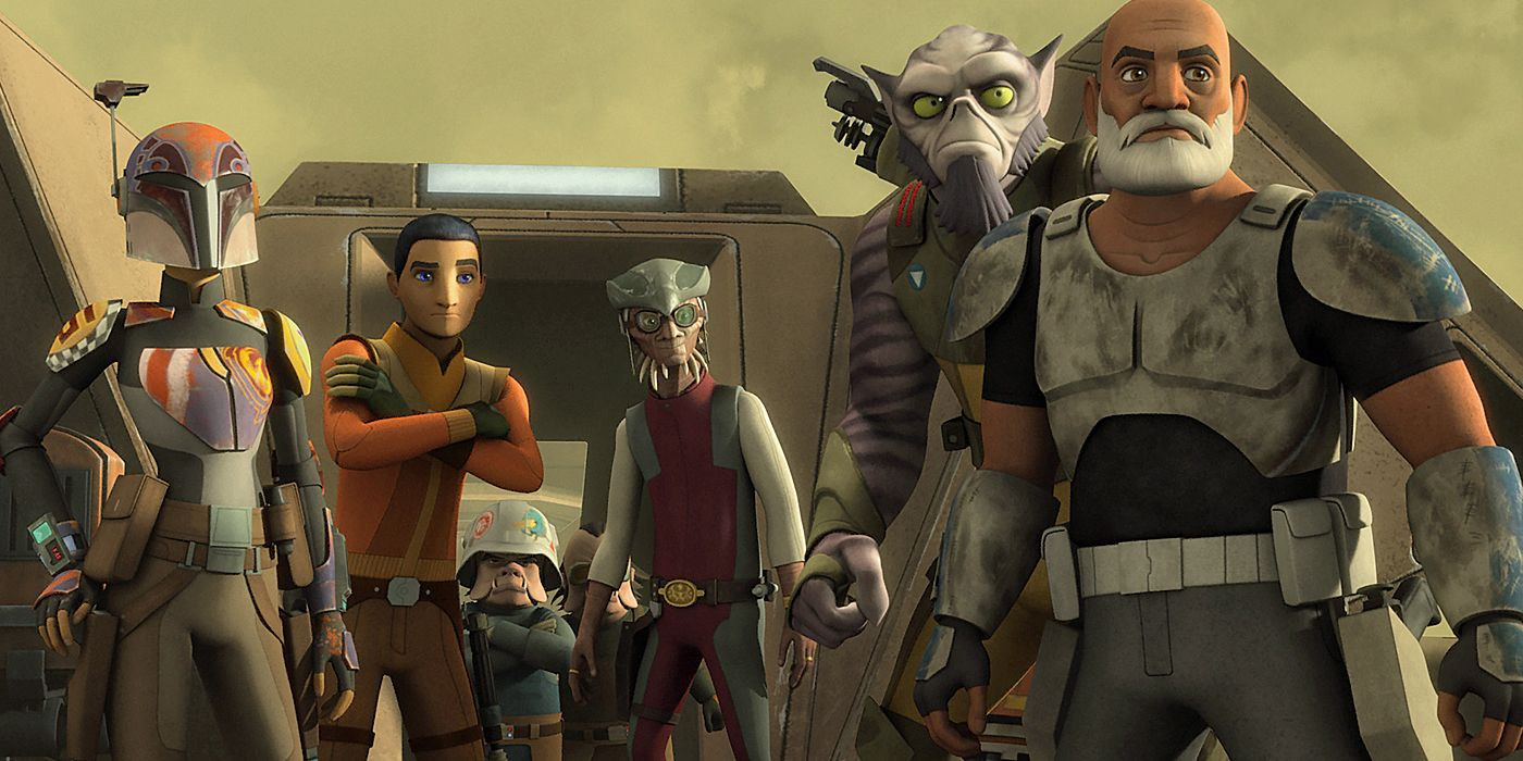 Star Wars Rebels What Happened To The Ghost Crew After The Series Ended