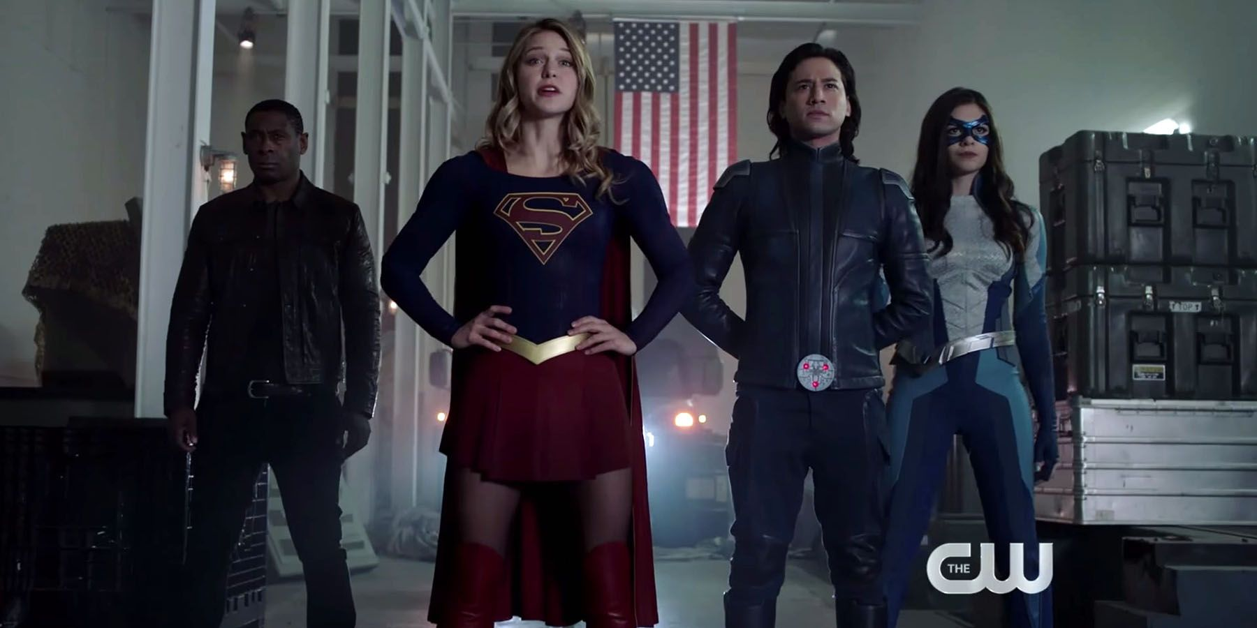 Supergirl Summons the Super Friends in New Promo