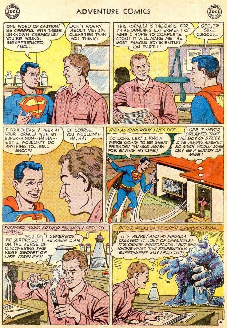 adventure comics 271 3 - ¿Cuándo conoció Superboy a Lex Luthor?