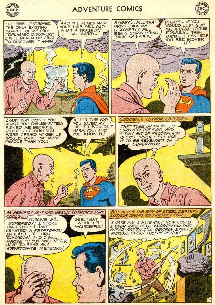 adventure comics 271 6 - ¿Cuándo conoció Superboy a Lex Luthor?
