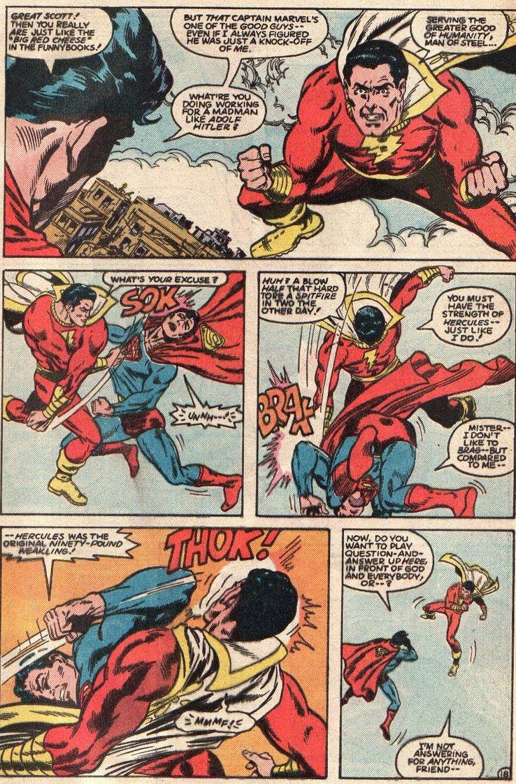 all star squadron 36 1 - Shazam! vs Superman: ¿Quién es más poderoso?