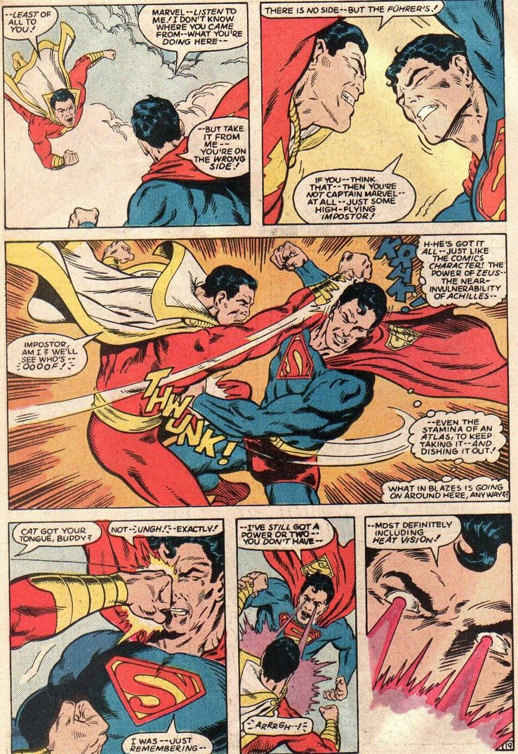 all star squadron 36 2 - Shazam! vs Superman: ¿Quién es más poderoso?