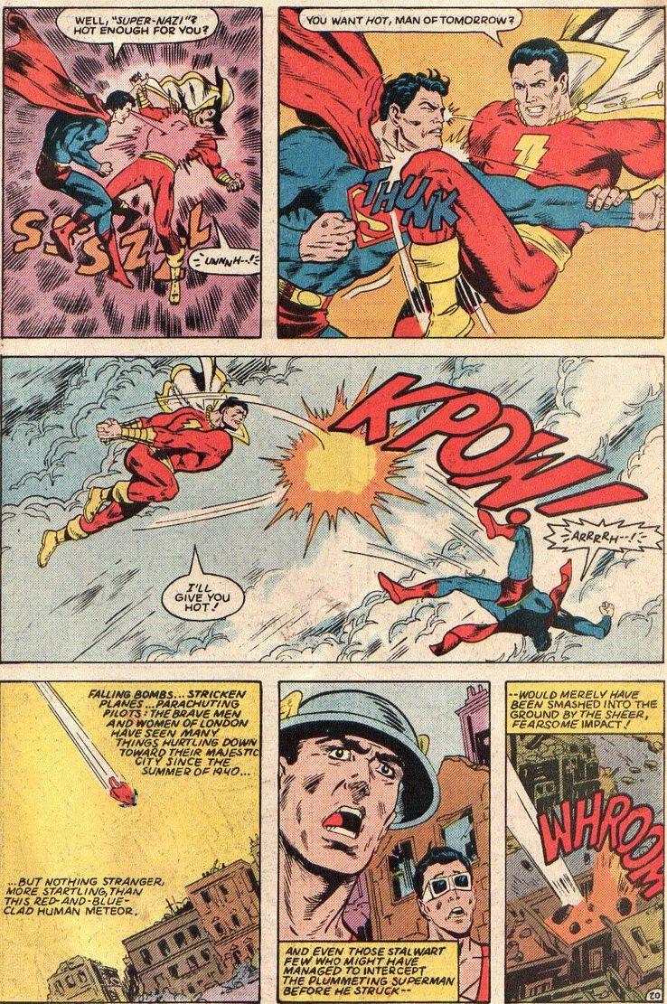 all star squadron 36 3 - Shazam! vs Superman: ¿Quién es más poderoso?