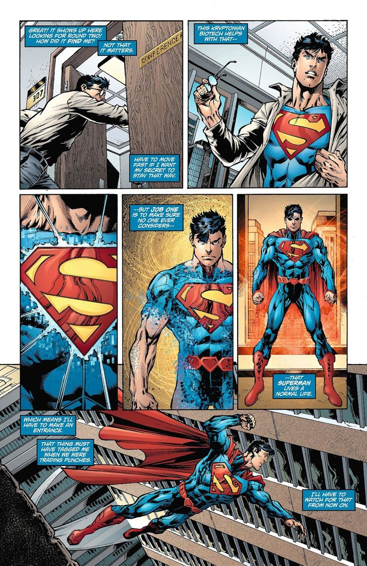 superman 7 - ¿Qué le pasa a la ropa de Clark Kent cuando se convierte en Superman?