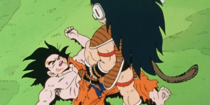 Goku contra Raditz