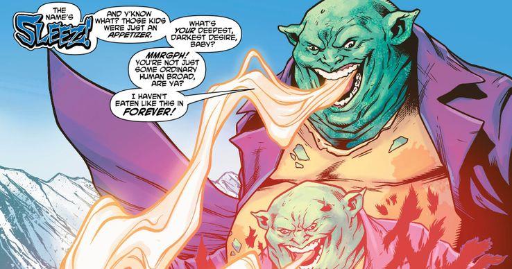 Sleez - Los 10 peores villanos de Superman