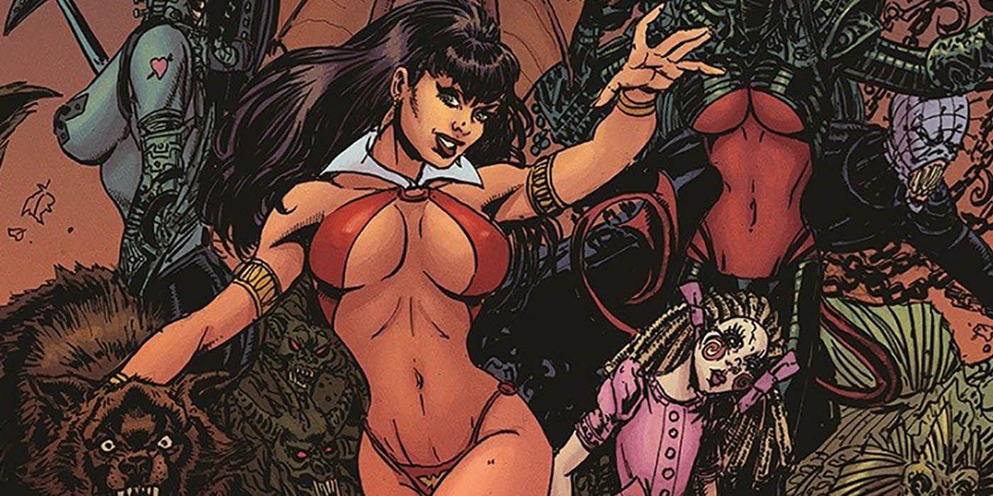 Vampirella 50th Anniversary Story Released in Playboy