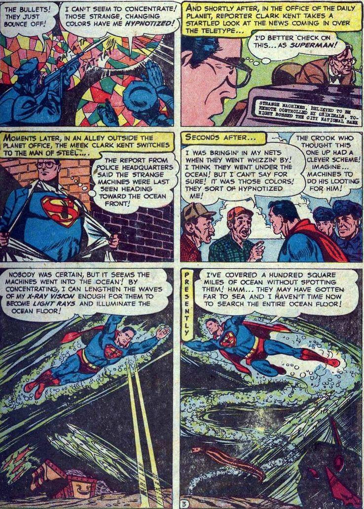 action comics 167 1 - Superman ha tenido unos poderes de visión realmente extraños a lo largo de los años