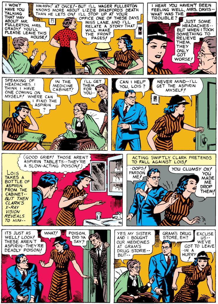 action comics 29 1 - Superman ha tenido unos poderes de visión realmente extraños a lo largo de los años