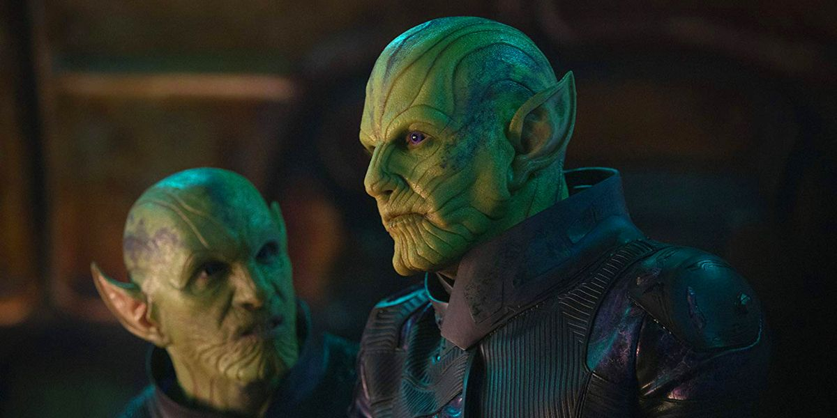 Captain Marvel: Early Skrull Design Was Comics Accurate | CBR