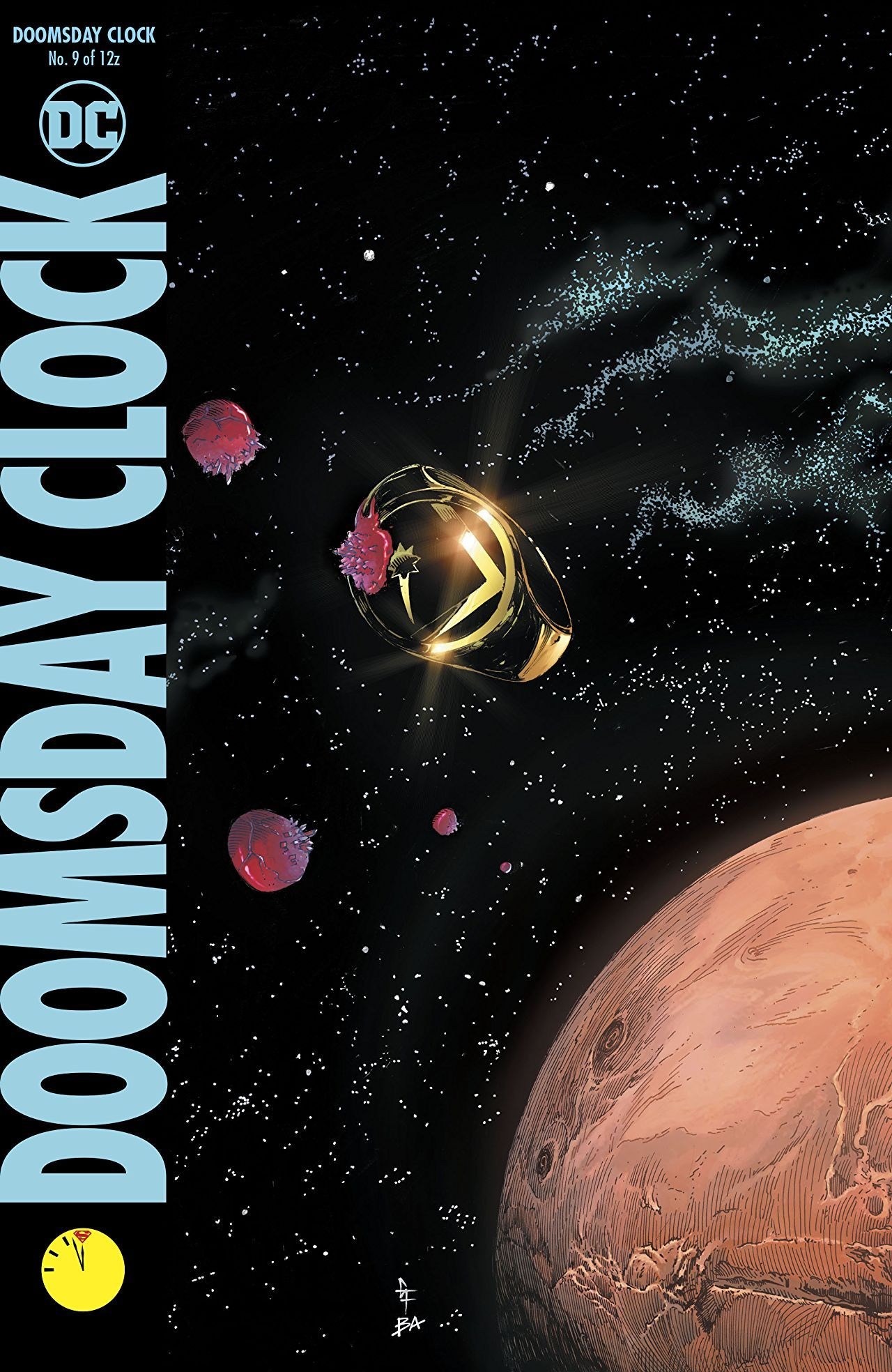 REVIEW: Doomsday Clock #9 is Comic Book Bliss