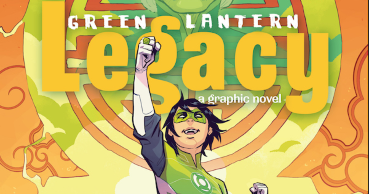 DC Debuts First Asian-American Green Lantern in New Graphic Novel