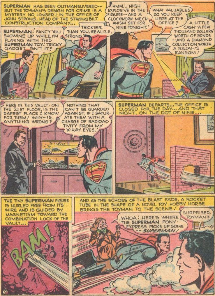 superman 63 1 - Superman ha tenido unos poderes de visión realmente extraños a lo largo de los años