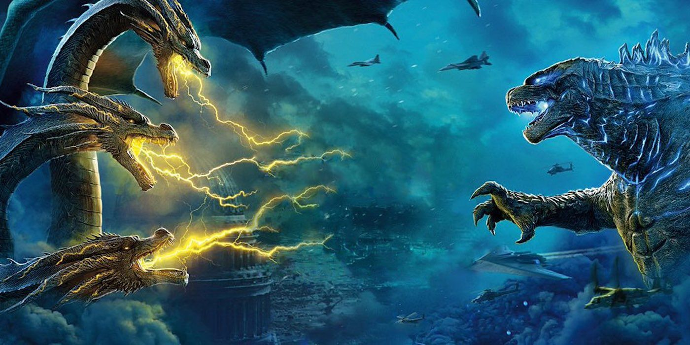Godzilla: King of the Monsters Posters Tease an Epic Monster Brawl