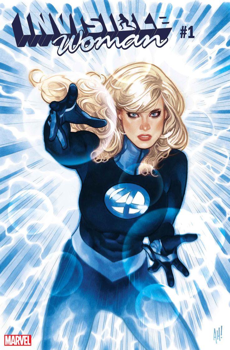 la femme invisible des quatre fantastiques comics