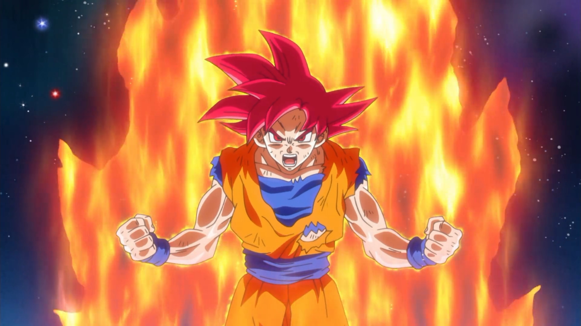 Image result for super saiyan god