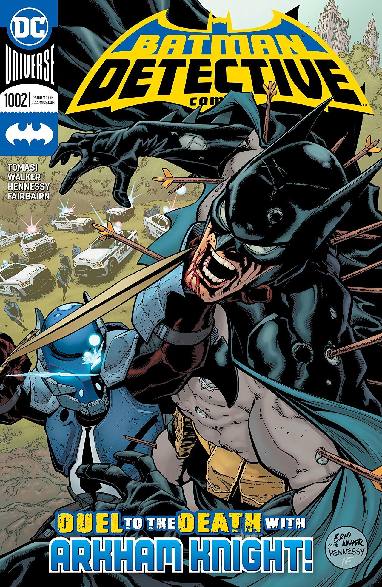 Detective Comics #1002 Places Another Hero in Arkham Knight's Sights