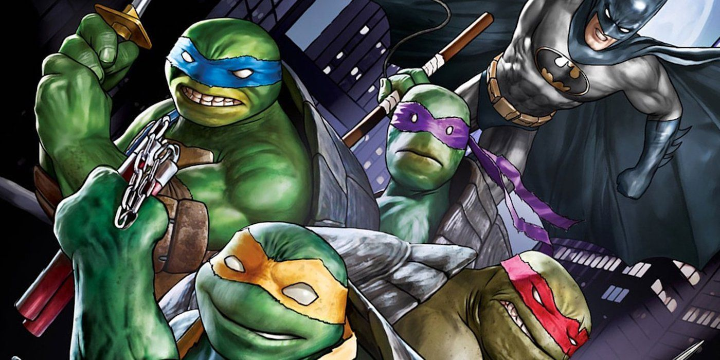 Batman Vs Teenage Mutant Ninja Turtles Debuts A Terrifying New Shredder