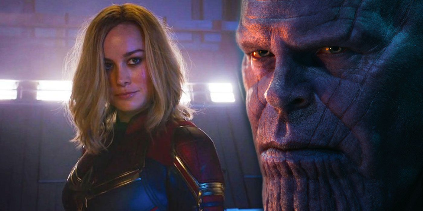 Sorry, Captain Marvel, But Thanos Is the MCU's Strongest Character