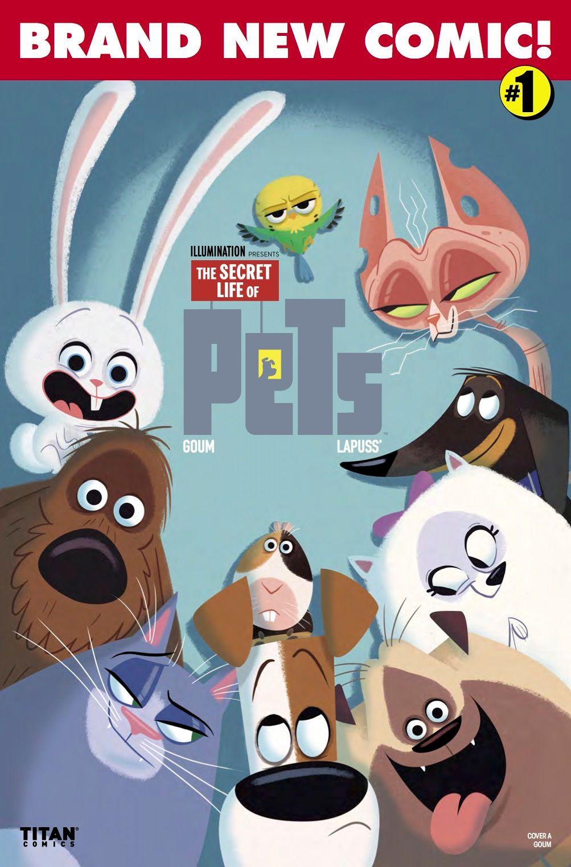 EXCLUSIVE PREVIEW: Secret Life of Pets #1 | CBR