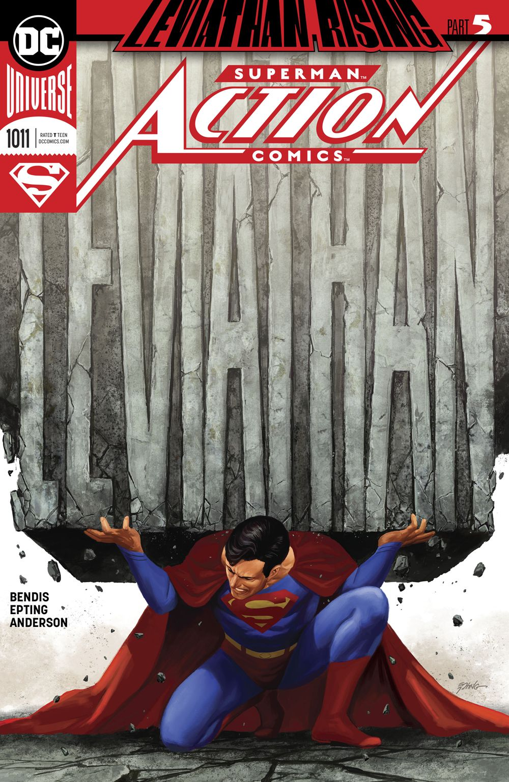 Action Comics #1011 Successfully Sets the Stage for Bendis' Event Leviathan