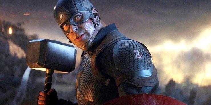 Chris Evans as Steve Rogers aka Captain America in Avengers: Endgame