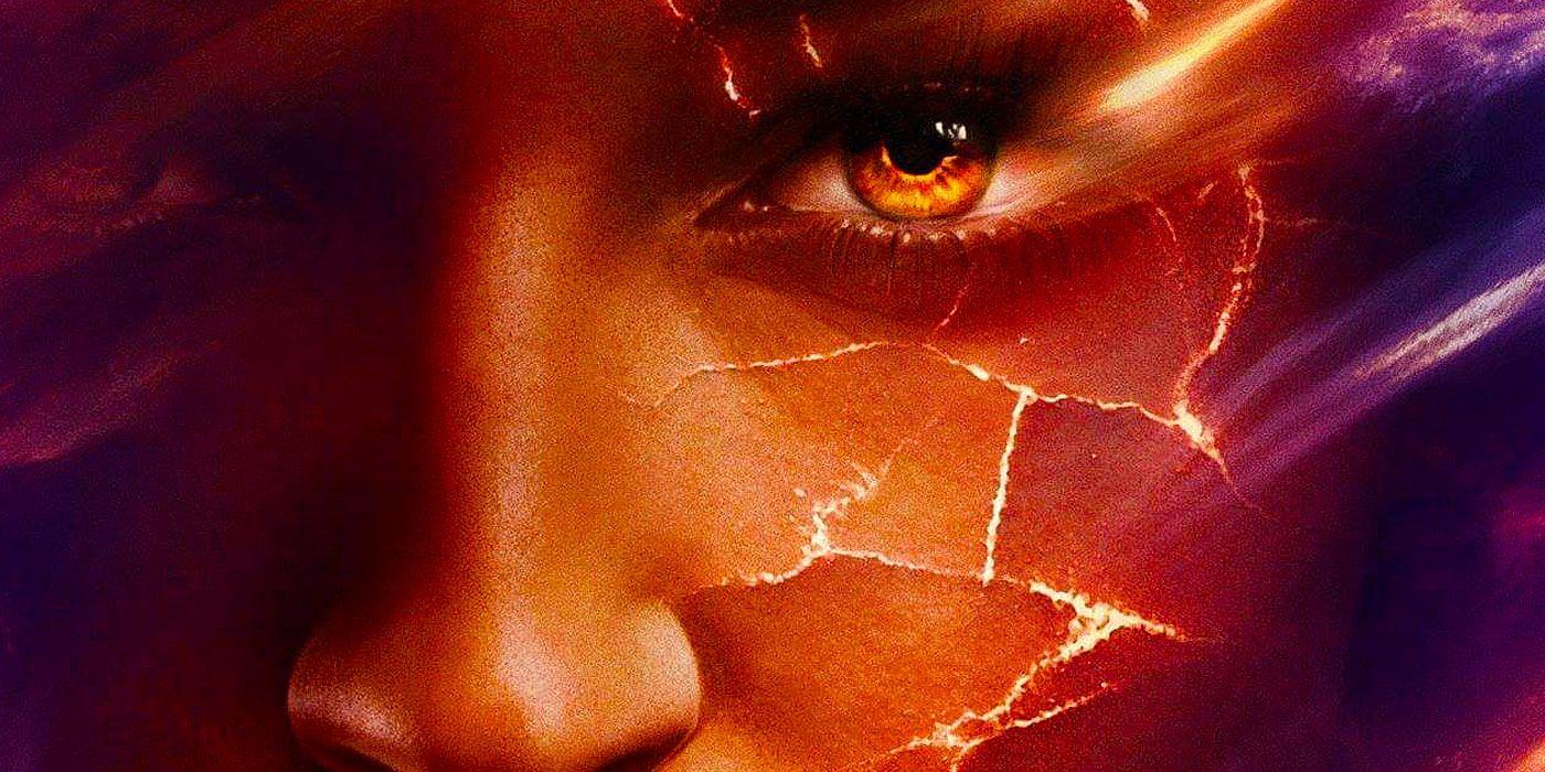 Dark Phoenix: Jean Grey Undergoes a Fiery Transformation in Motion Poster