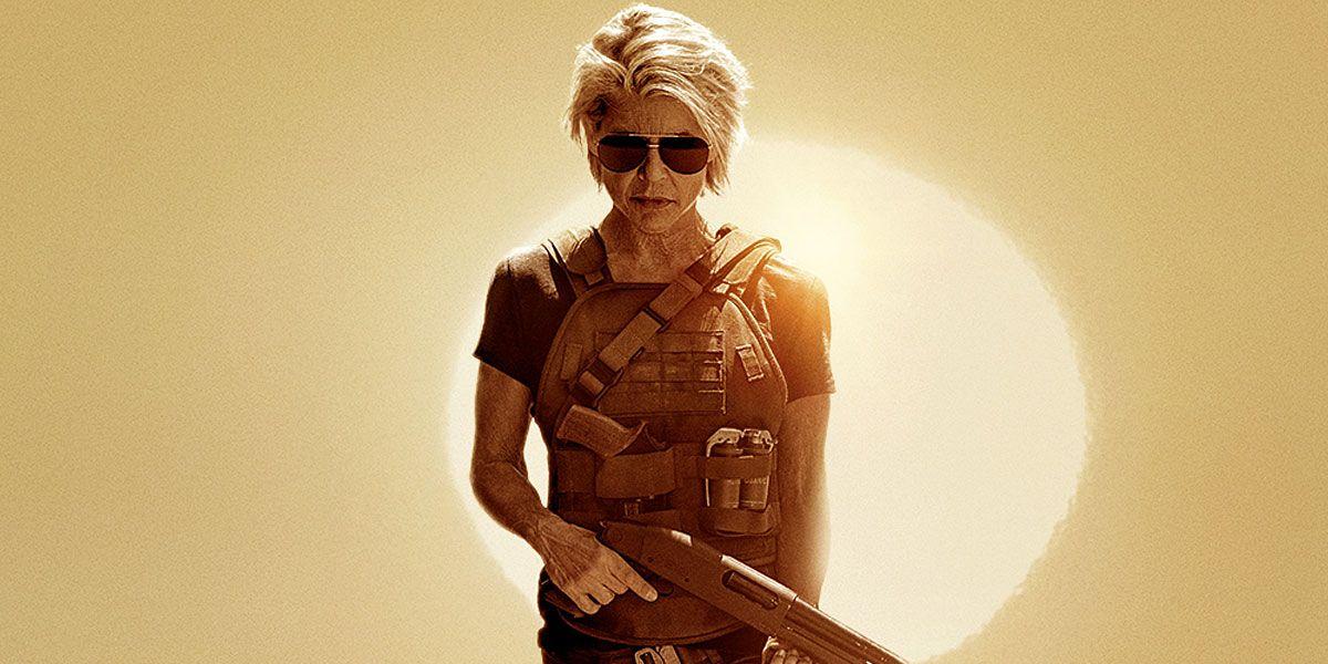 Sarah Connor Rises in Striking Terminator: Dark Fate Poster | CBR