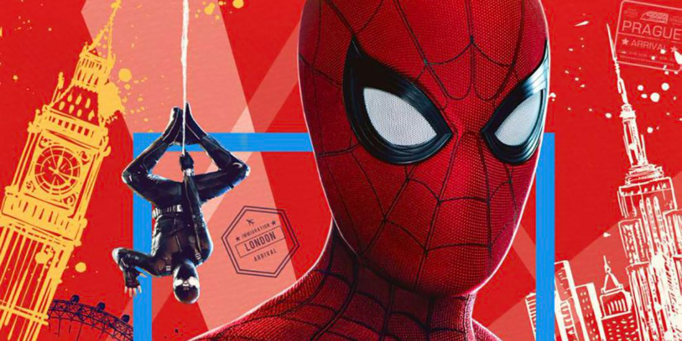 Spider Man Wears Multiple Masks In Far From Home Poster Cbr