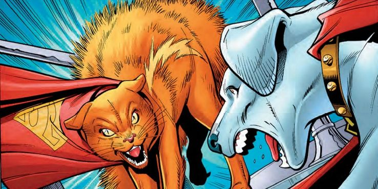 Streaky the Supercat from DC comics - Los 10 tipos más mortales de kryptonita