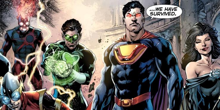 Superman Ultraman - Las diez versiones más poderosas del multiverso de Superman
