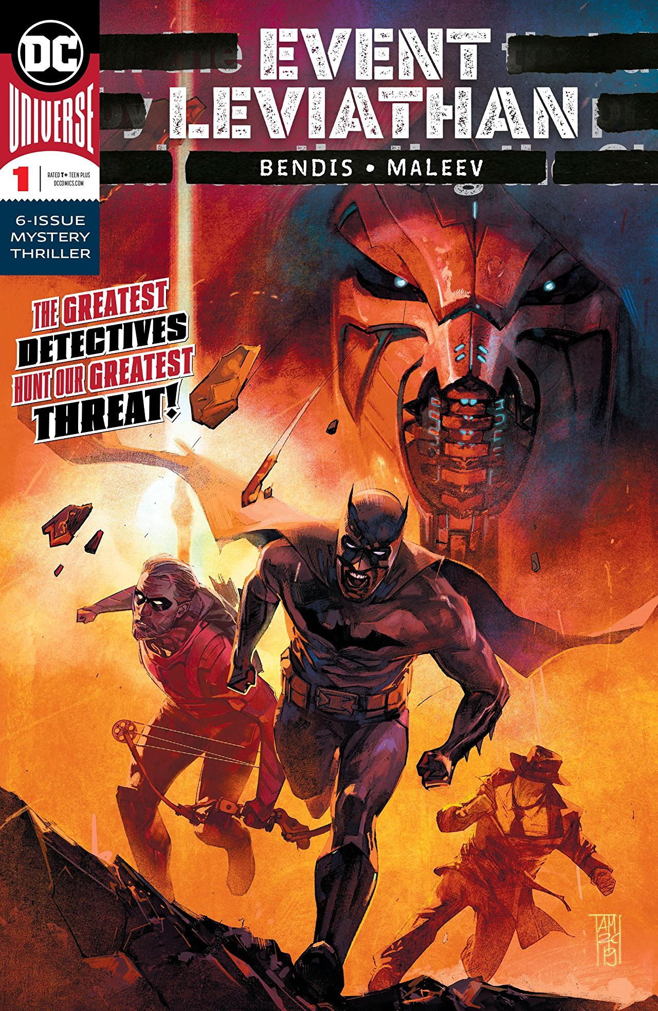 Event Leviathan #1 is a Great Start to a Massive Detective Story