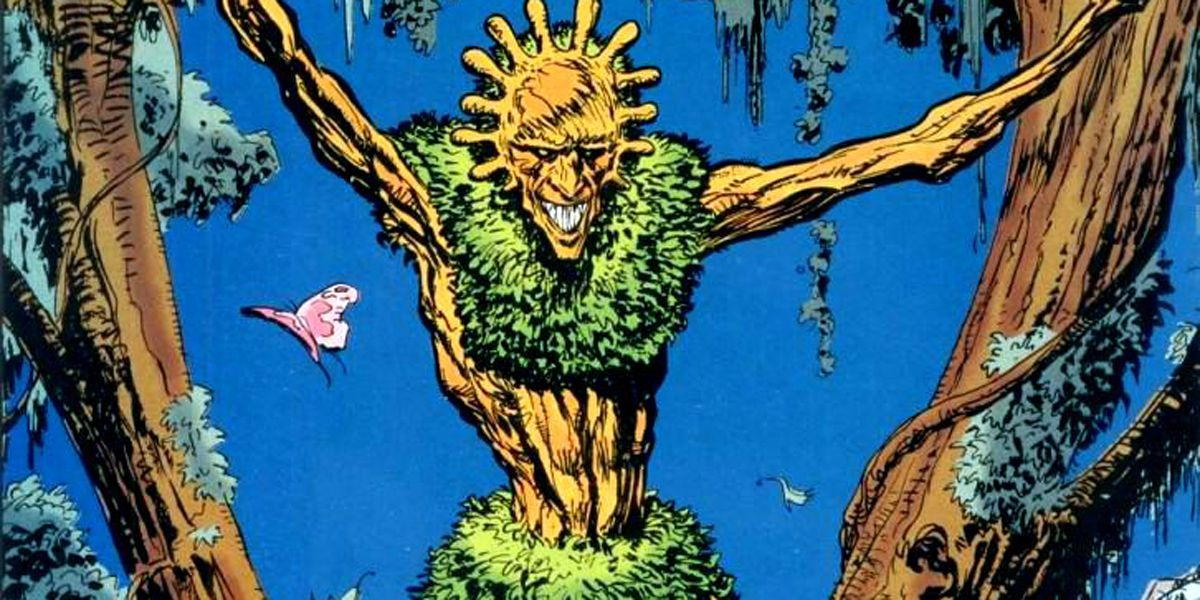 Swamp Thing Concept Art Reveals Floronic Man Design | CBR