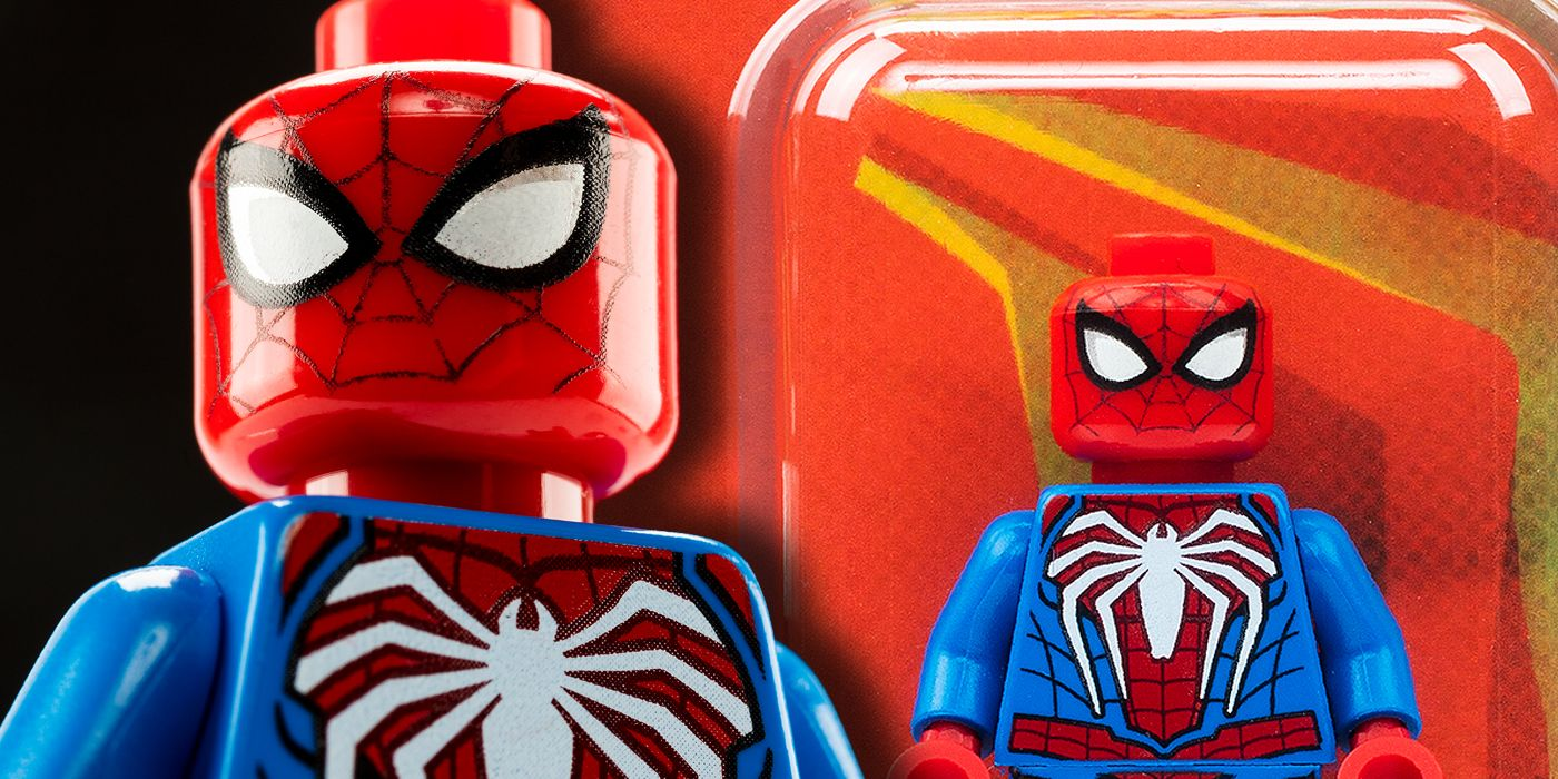 LEGO Reveals SDCC-Exclusive PS4 Spider-Man Minifig Giveaway | CBR