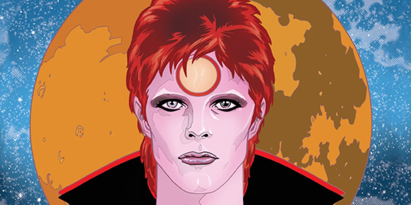 Insight Comics Announces David Bowie Biography from Mike Allred