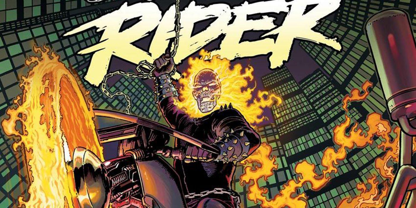 Marvel's New Ghost Rider Comic Reunites Johnny Blaze, Danny Ketch